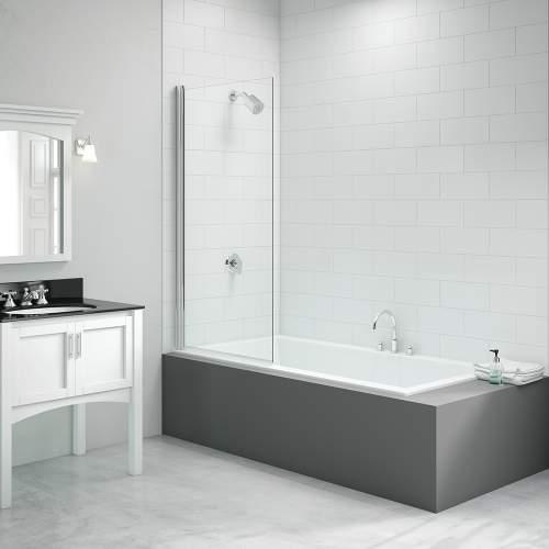 Bluci Single Square Bath Screen