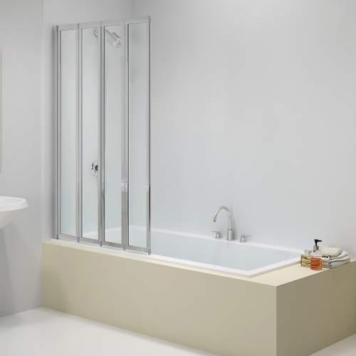 Bluci 4 Fold Bath Screen