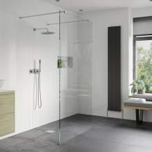 Bluci Walk Through Wetroom Panel & Arm