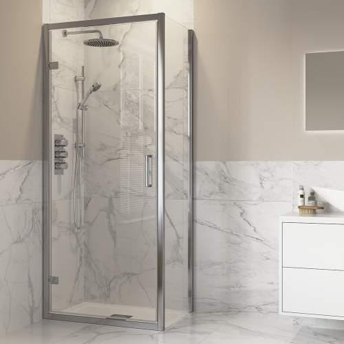 Bluci 2000mm High Side Panel for Hinged Door Shower Enclosure