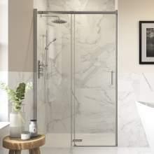 Bluci Semi Framed Shower Enclosure Sliding Door