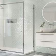 Bluci Flex Side Panel for Framed Sliding Door