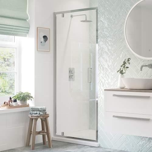 Bluci Flex Shower Enclosure Framed Pivot Door