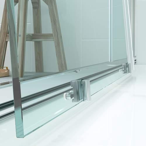 Bluci Flex Framed 2 Door Quadrant Shower Enclosure