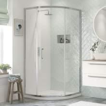 Bluci Flex Framed 1 Door Quadrant Shower Enclosure