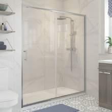 Bluci Classic Framed Shower Enclosure Sliding Door