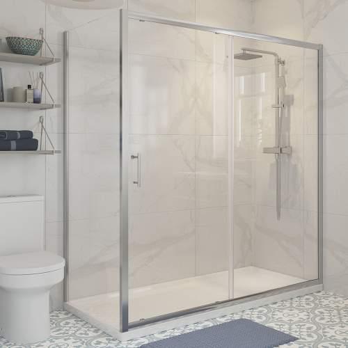 Bluci Classic Shower Enclosure Framed Side Panel