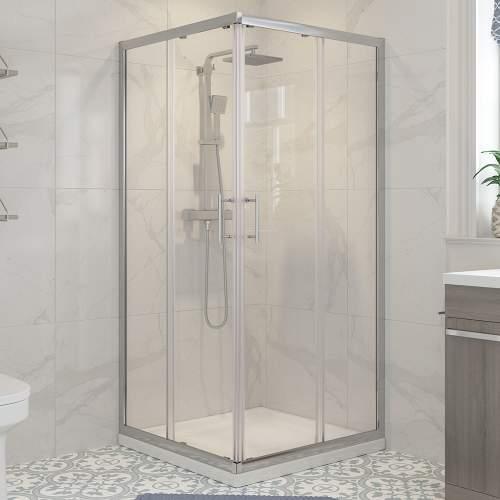 Bluci Classic Shower Enclosure Corner Entry Door