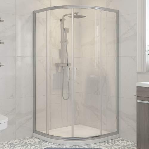 Bluci Classic Framed 2 Door Quadrant Shower Enclosure