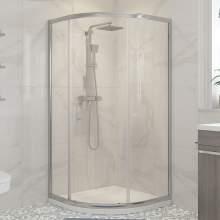 Bluci Classic Framed 1 Door Quadrant Shower Enclosure