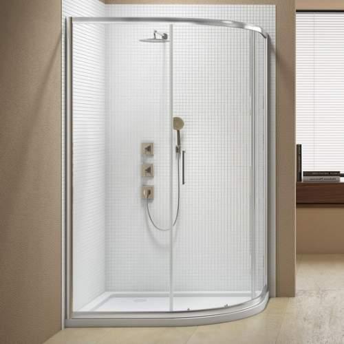 Bluci Sublime 1 Door Offset Quadrant Shower Enclosure