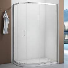 Bluci Boost 1 Door Offset Quadrant Shower Enclosure