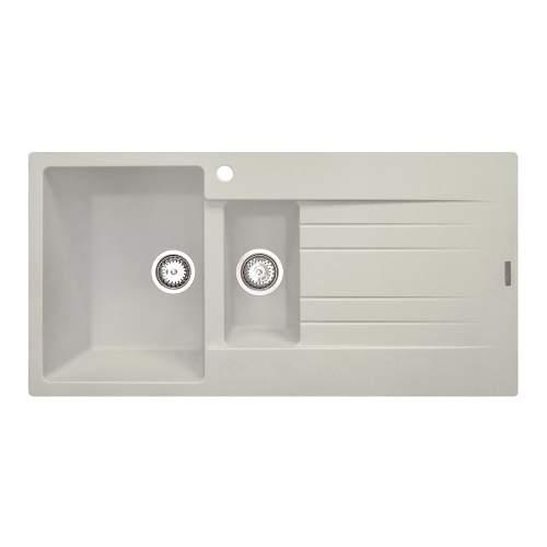 Reginox Hampton 15 Single Bowl Granite Sink