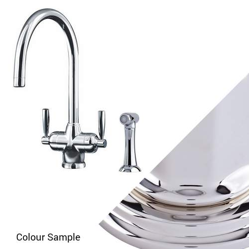 Perrin & Rowe 1535 MIMAS Filtration Mixer Kitchen Tap with Rinse