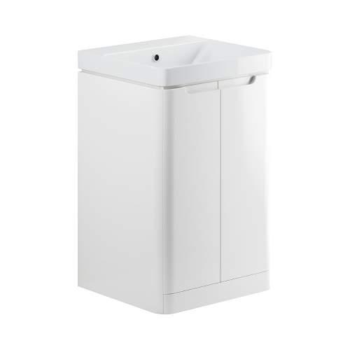 Bluci Lambra 500mm 2 Drawer Cloakroom Basin Unit