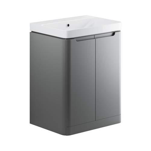 Bluci Lambra 600mm 2 Door Bathroom Basin Unit