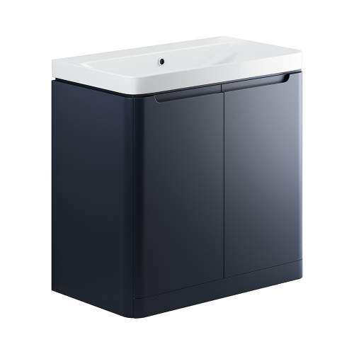 Bluci Lambra 800mm 2 Door Bathroom Basin Unit