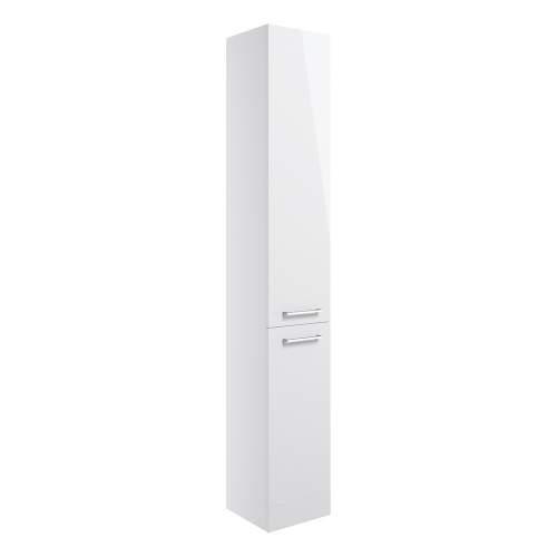 Bluci Venosa Floor Standing Two Door Tall Bathroom Unit