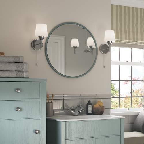 Bluci Lucia Round Bathroom Mirror