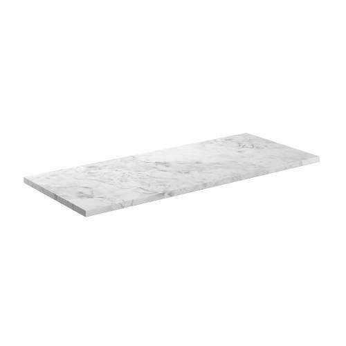 Bluci Manhattan Carrara Marble Laminate Bathroom Worktop