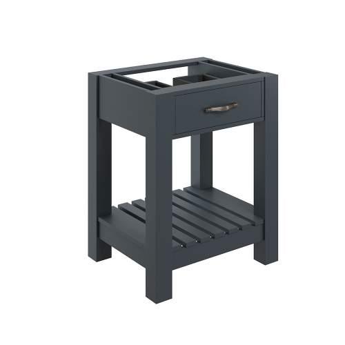 Bluci Manhattan Floor Standing 600mm Bathroom Basin Unit with No Top