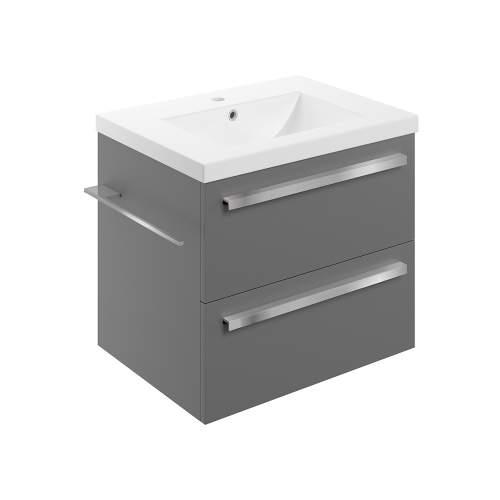 Bluci Morina 615mm Wall Hung Bathroom Basin Unit