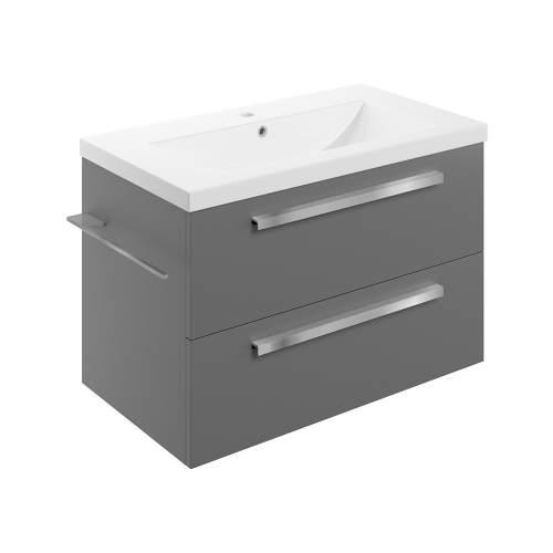 Bluci Morina 815mm Wall Hung Bathroom Basin Unit