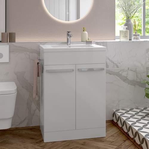 Bluci Morina 615mm Floor Standing Bathroom Basin Unit