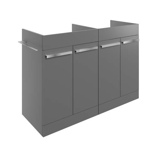 Bluci Morina 1200mm Floor Standing Bathroom Basin Unit with No Top