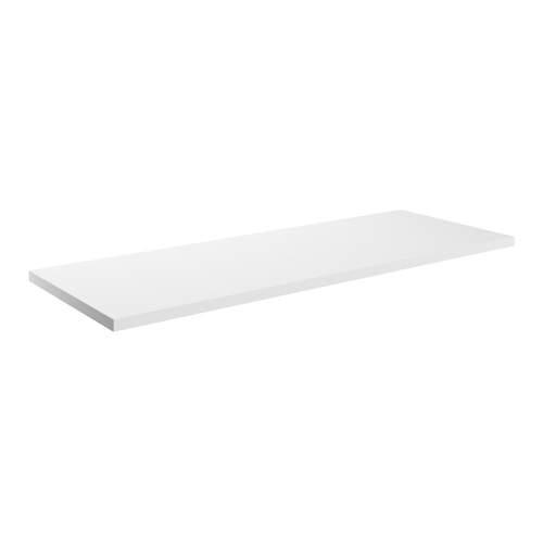 Bluci Morina White Gloss Laminate Bathroom Worktop