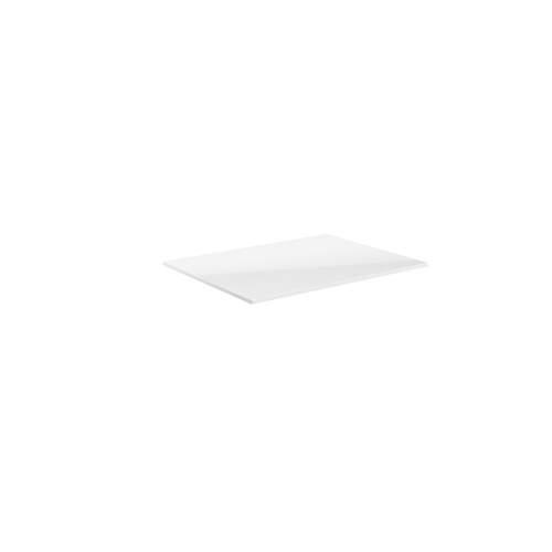 Bluci Carino White Gloss Laminate Bathroom Worktop