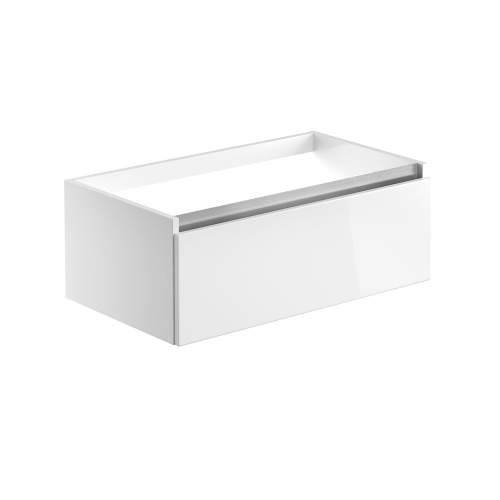 Bluci Carino 815mm 1 Drawer Wall Hung Bathroom Basin Unit with No Top