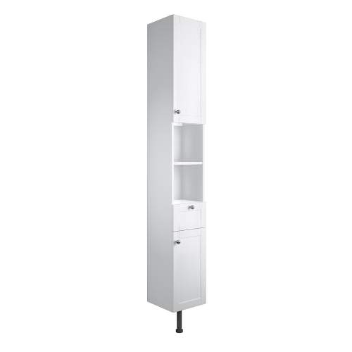 Bluci Benita 300mm 2 Door 1 Drawer Bathroom Tall Unit