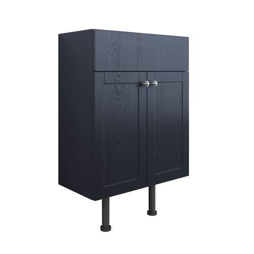Bluci Benita 600mm 2 Door Bathroom Basin Unit