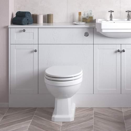Bluci Benita 600mm Bathroom WC Unit