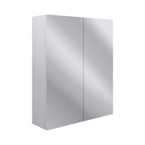 Bluci Benita 600mm 2 Door Mirrored Bathroom Wall Unit