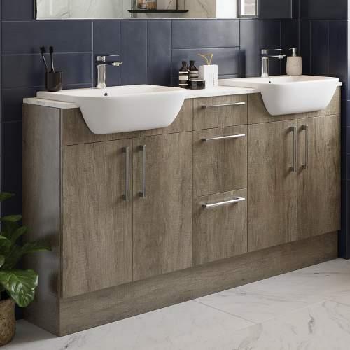 Bluci Alba 2400mm Bathroom Base Plinth