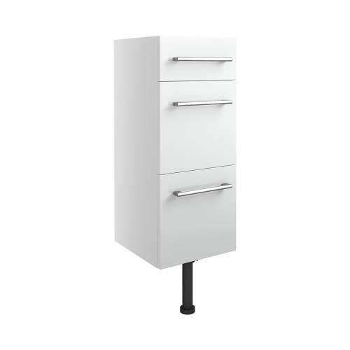 Bluci Alba 300mm 3 Drawer Bathroom Unit
