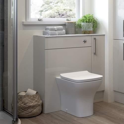 Bluci Alba 500mm Bathroom WC Unit
