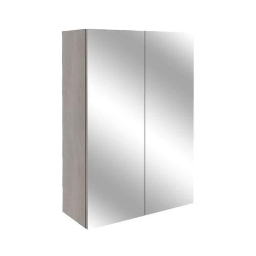 Bluci Alba 500mm 2 Door Mirrored Bathroom Unit