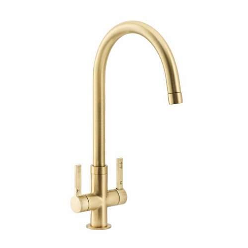 Abode PICO Monobloc Kitchen Tap AT2045 Brushed Brass