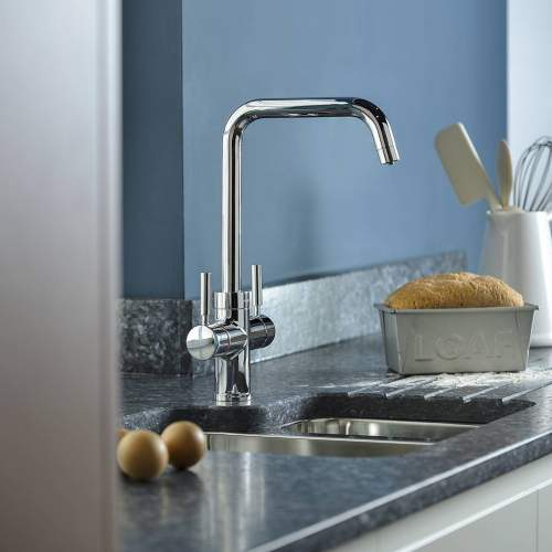Abode Pronteau ProPure Quad 4 in 1 Instant Hot Water Kitchen Tap