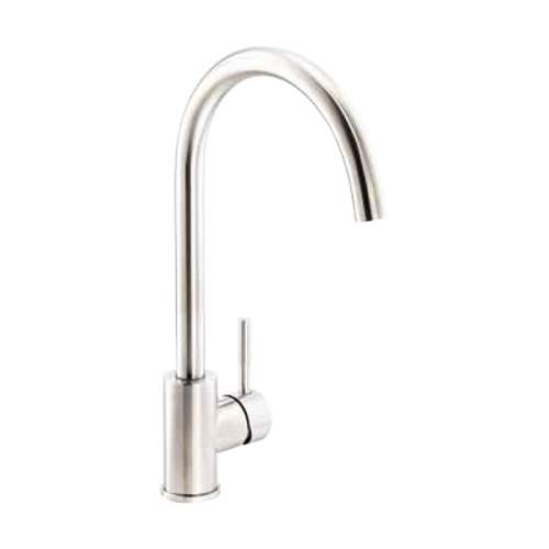 Abode Sway Stainless Steel Single Lever Kitchen Tap