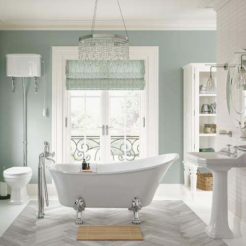 Bluci Sherbourne Traditional Bathroom Suite