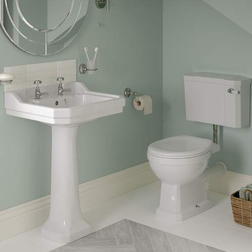 Bluci Sherbourne Traditional Cloakroom Suite