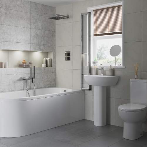 Bluci Tuscany Bathroom Bath and Shower Suite