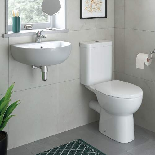 Bluci Tuscany Cloakroom Suite