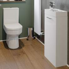 Bluci Volta White Furniture Set