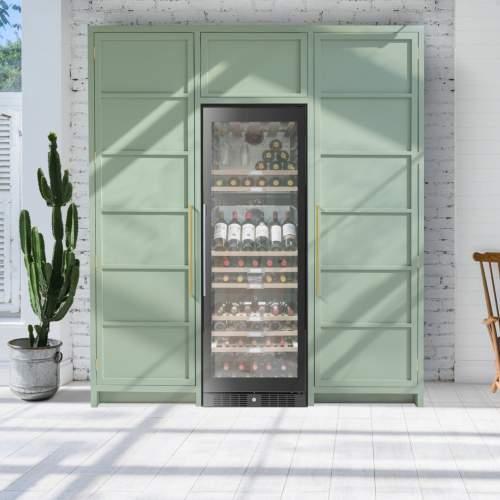Caple Classic WF1553 Freestanding Triple Zone Wine Cabinet