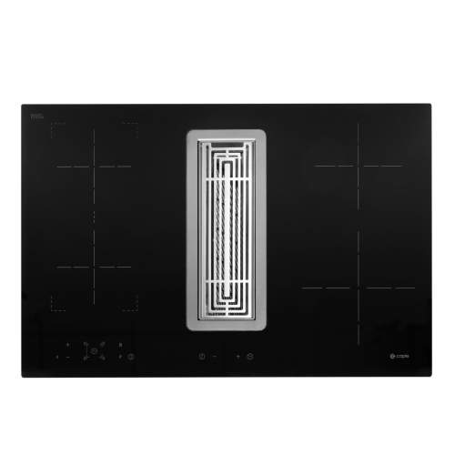Caple DD780BK Induction Downdraft Extractor with Motor
